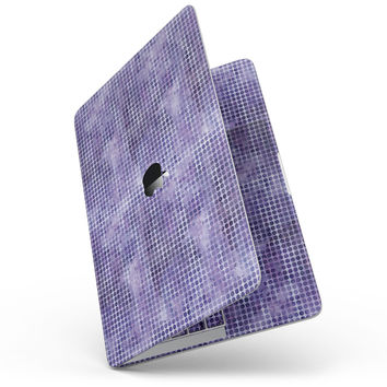 Purple Watercolor Polka Dots - MacBook Pro without Touch Bar Skin Kit