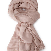 Classic Frayed Scarf