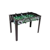 48-Inch Foosball Table with 2 Soccer Balls Included