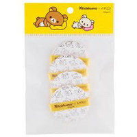 [APIEU] Air-Fit Tension Pact puff - 4pcs (Rilakkuma Edition)