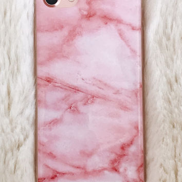 Baby Pink Marble iPhone 7/7+ Case