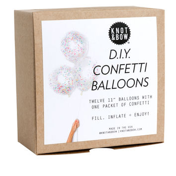 Knot & Bow D.I.Y. Confetti Balloons