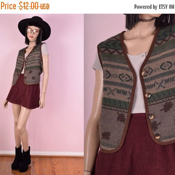 ON SALE 90s Tribal Vest