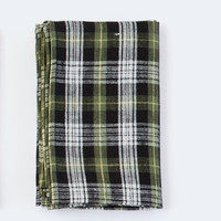 Fog Linen Work Dish Towel Peter Plaid