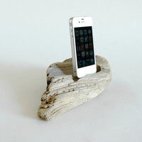 Driftwood Docking Station For a Smart Phone No. 377