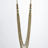 ModCloth Boho In Good Strands Necklace