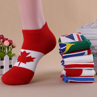 Casual Flag Printed Ankle Shoes