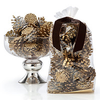Golden Pinecones | Naturally Gifted | Gifts | Z Gallerie