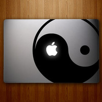 Yin Yang Decal - Yin-Yang Decal - Vinyl MacBook Decal