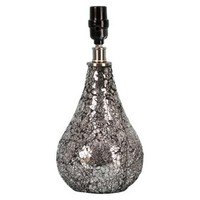 Threshold™ Mosaic Teardrop Lamp Base - Black Small