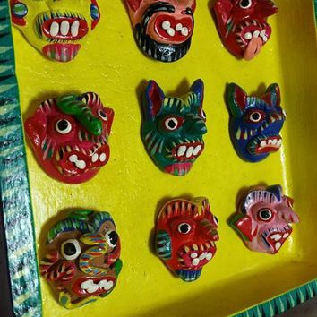 Mexican Mask Board