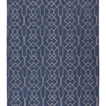 R402551 Coulee Large Rug Blue Free Shipping!