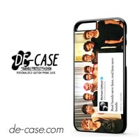 5sos And One Direction Fan Twit DEAL-143 Apple Phonecase Cover For Iphone 6 / 6S