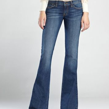Lucky Brand Charlie Flare Womens Flare Jeans - Ol Blarney Stone Wash (8/29x32)