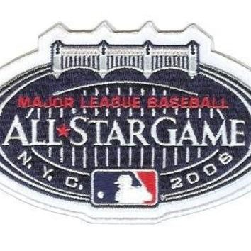 2008 MLB Official All Star Baseball Sleeve Jersey Patch New York Yankees