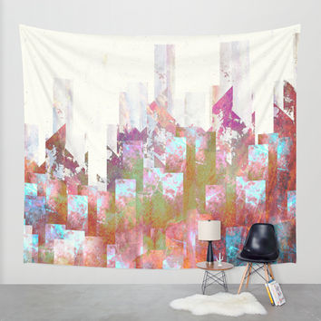 Dead cities Wall Tapestry by HappyMelvin
