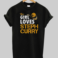 this girl loves steph curry shirt