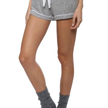 Z Supply Marled Knit PJ Shorts