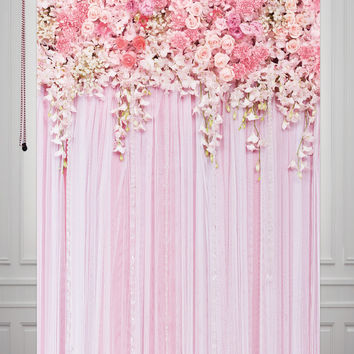 HUAYI Vintage  Printed Background  Art Fabric Newborn Backdrop  Studio/Photography Props Wedding Flower D9354