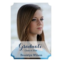 Personalized Graduation Party Invites Ticket