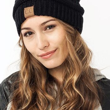CC Luxe Knit Beanie (+ Colors)
