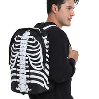 Black & White Rib Cage Backpack