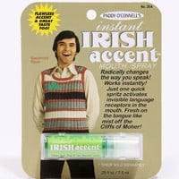 Instant Irish Accent Mouth Spray - Urban Outfitters