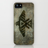 Emblem of the Anishinaabe people iPhone & iPod Case by Bruce Stanfield