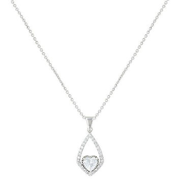 Montana Silversmith Hearts on a Swing Necklace