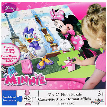 Minnie Mouse Bow-Tique Floor Puzzle [46 Pieces]