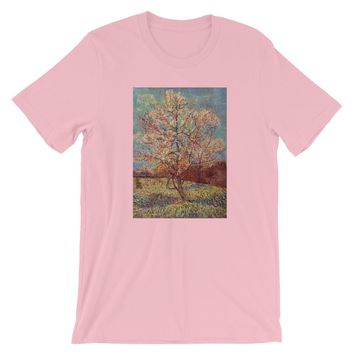 Van Gogh Art Tree Short-Sleeve Unisex T-Shirt
