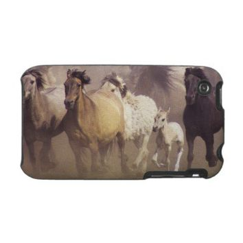 Wild horses running case for the iPhone 3 from Zazzle.com