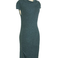 ModCloth Long Cap Sleeves The Comforts of Haute Dress