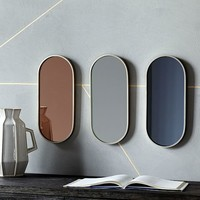 Pill Shaped Mirrors