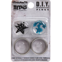 Morbid Metals Anchor Star D.I.Y. Interchangeable Plugs Pack | Hot Topic