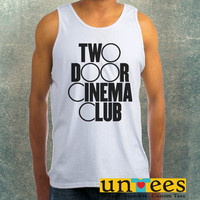 Two Door Cinema Club Logo Clothing Tank Top For Mens