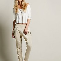Free People Womens Drapey Pocket Pant