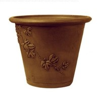 PSW A35C Trailing Ivy Round Pot, Chocolate