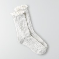AEO POINTELLE CREW SOCKS