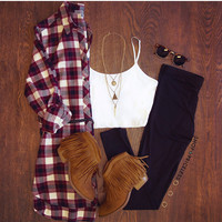 Aberdeen Plaid Tunic