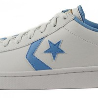 Converse for Men: Chuck Taylor Pro Leather Ox White Sneakers