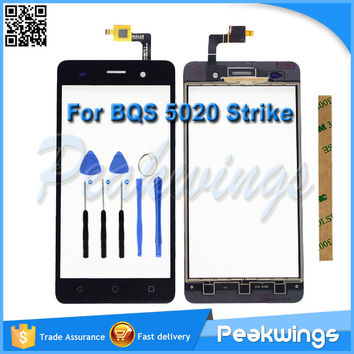 BQS-5020 Touch Sensor For BQS 5020 Strike Touch Screen Digitizer Panel With Tracking number+Tools+3M Sticker