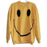 Smile Sweatshirt | Burger And Friends