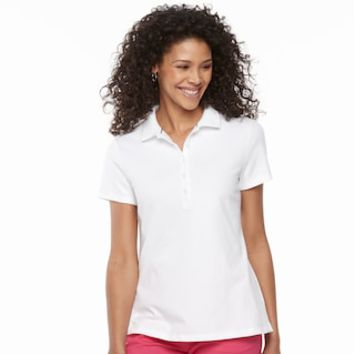 Women's Croft & Barrow® Classic Polo | null