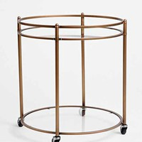 Layla Bar Cart- Gold One