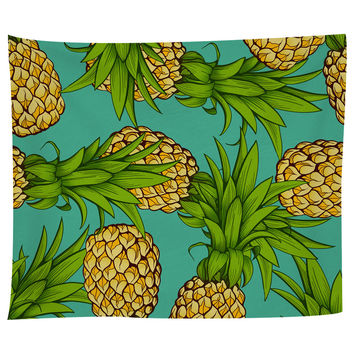 Crazy Pineapples Tapestry