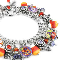 Trick or Treat Halloween Charm Bracelet