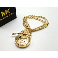 MK Woman Fashion Chain Plated Bracelet Jewelry