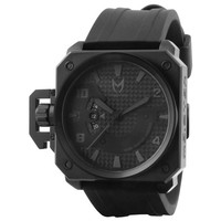 Meister Chief Watch All Black One Size For Men 21102510001