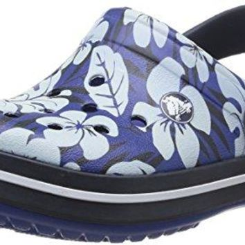 Crocs Crocband Tropical Print Clog Shoes